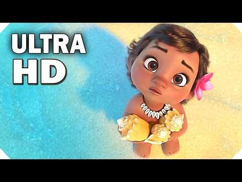 Disney's MOANA - BABY Moana TRAILER ! (Ultra HD 4K - 2016)