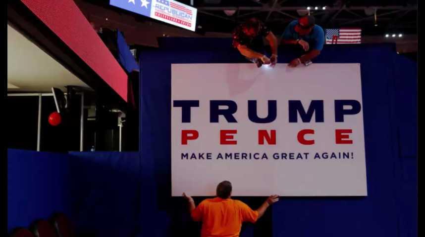 Illustration pour la vidéo Convention républicaine: Trump peut-il fédérer un parti divisé ?