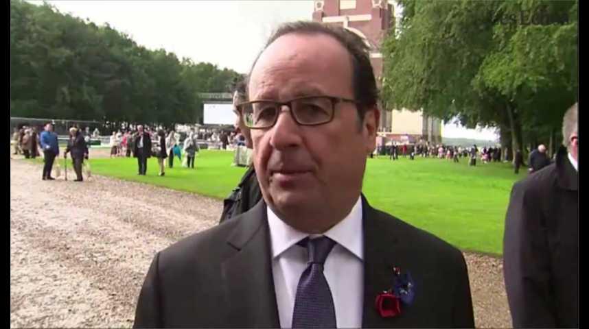 Illustration pour la vidéo UE : Hollande entame une tournée pour rassembler les 27 autour de son initiative post-Brexit