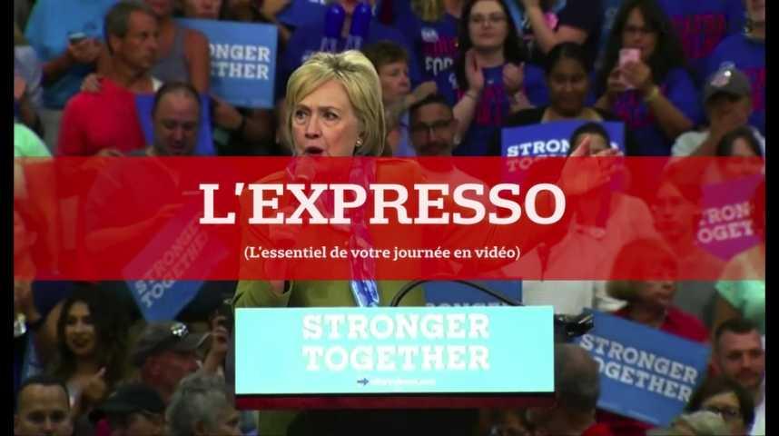 Illustration pour la vidéo L'Expresso du 8 août 2016 : Clinton et Trump, quels programmes économiques ?