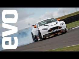 Aston Martin Vantage GT12 review   evo LEADERBOARD