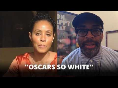 Jada Pinkett Smith and Spike Lee boycott the Oscars