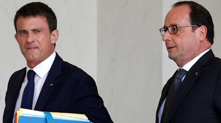 Illustration pour la vidéo Elections présidentielles : Hollande et Valls sortiraient dès le premier tour