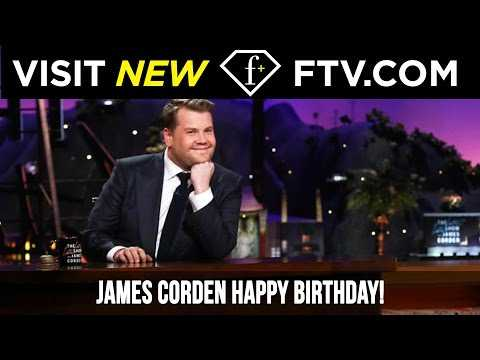 James Corden Happy Birthday! 22 Aug | FTV.com