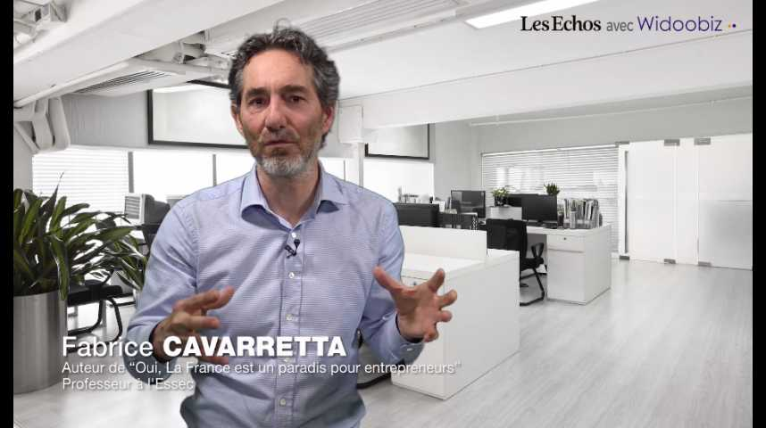 Illustration pour la vidéo Les leçons de Michel et Augustin, par Fabrice Cavaretta, professeur à l'ESSEC