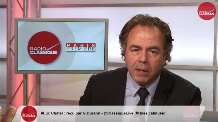 """Illustration pour la vidéo """"La France est fragilisée et elle a des réactions épidermiques"""" Luc Chatel (31/08/2016)"""