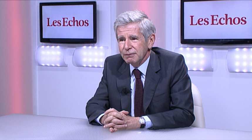 """Illustration pour la vidéo Alain Minc : """"J'ai 3 désaccords avec Emmanuel Macron"""""""