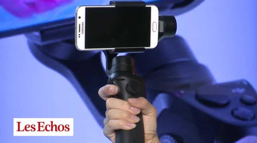 Illustration pour la vidéo L'Osmo Mobile, un stabilisateur pour ne plus rater vos vidéos sur smartphone
