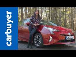 Lovely Toyota Prius Hybrid 2016 Review   Carbuyer