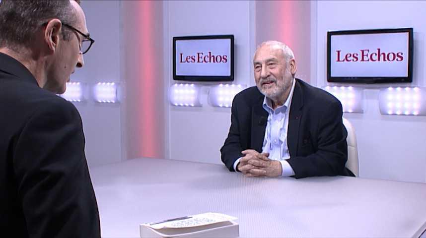 """Illustration pour la vidéo Joseph Stiglitz : """"Le problème c'est qu'avec 19 pays, il y a trop de divergences économiques et politiques"""""""