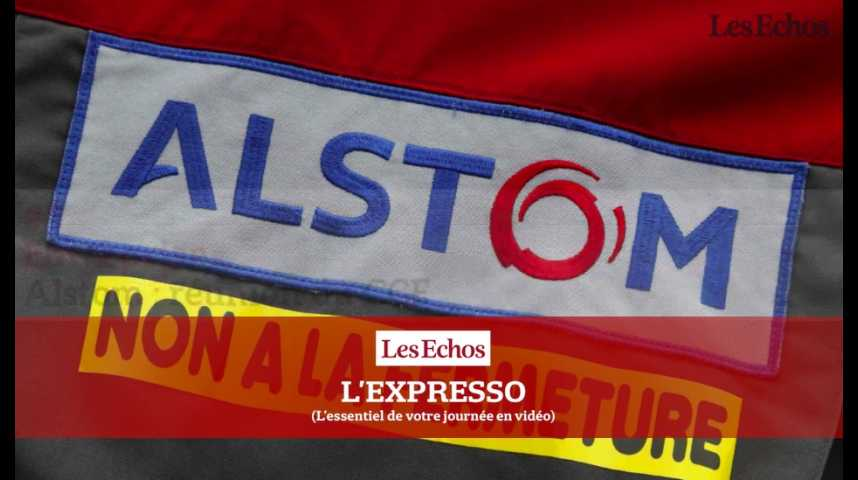 Illustration pour la vidéo L'Expresso du 26 septembre 2016 : CCE, appel à la grève... semaine tendue pour Alstom