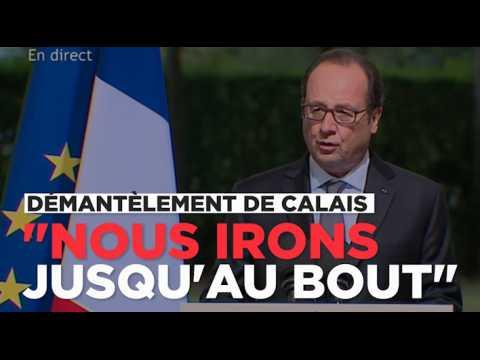 Calais : comment Hollande compte démanteler le camp de la Lande