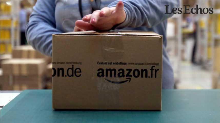 Illustration pour la vidéo Amazon va embaucher deux fois plus de personnes que prévu en France cette année