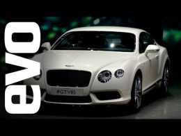 Bentley Continental GT V8 S: Frankfurt 2013 |  xe máy evo