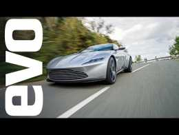 Aston Martin DB10 - What's it like to drive a Bond car?    evo REVIEW