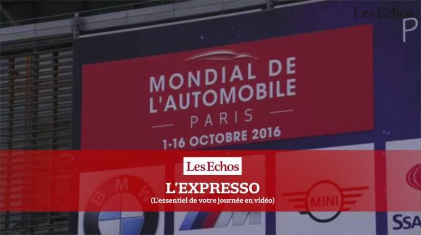 Illustration pour la vidéo L'Expresso du 30 septembre 2016 : le Mondial de l'Automobile ouvre ses portes au public ce weekend