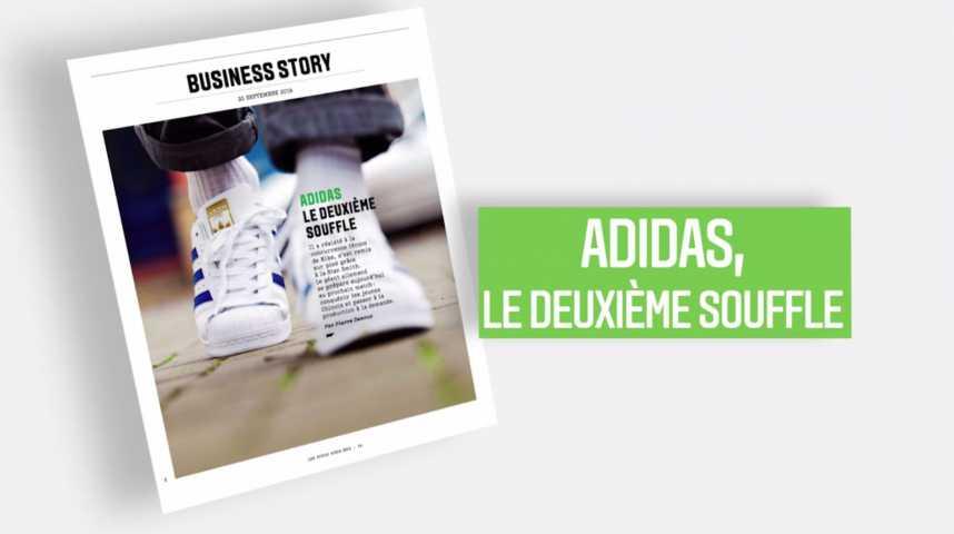 Illustration pour la vidéo Les Echos Week-End : Adidas, le deuxième souffle