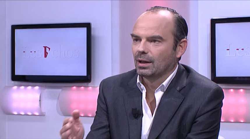 Illustration pour la vidéo Alstom : «une décision improvisée, incohérente», selon Edouard Philippe