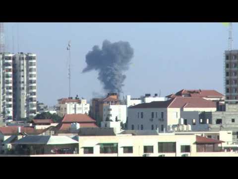 Israel hits Hamas posts after rocket fire from Gaza