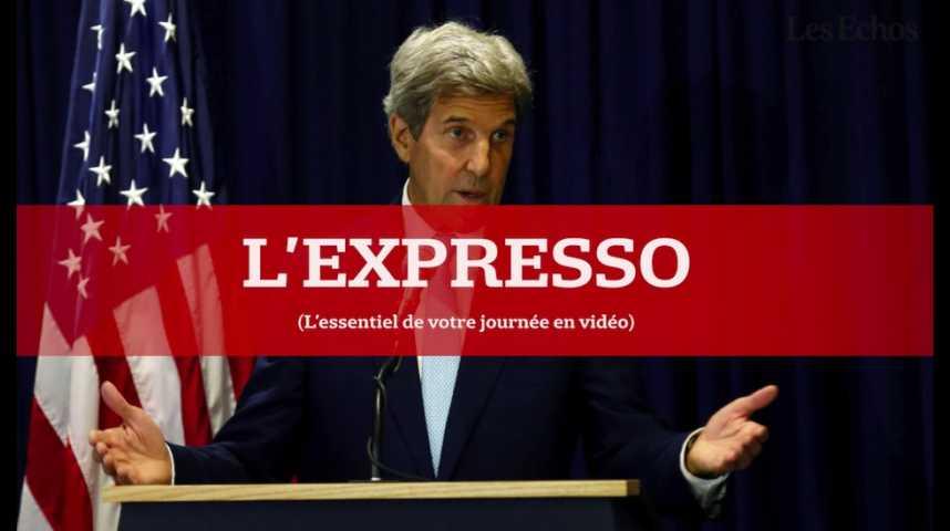 Illustration pour la vidéo L'Expresso du 23 août 2016 : John Kerry au Nigeria puis en Arabie Saoudite pour parler sécurité...