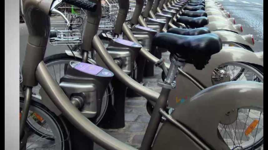 Illustration pour la vidéo Paris : très cher Vélib'