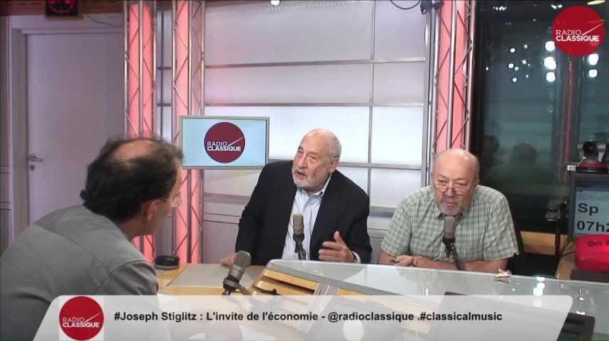 """Illustration pour la vidéo """"L'Euro est en train de torpiller la prospérité, ça affaiblit l'Union Européenne"""" Joseph Stiglitz (13/09/2016)"""