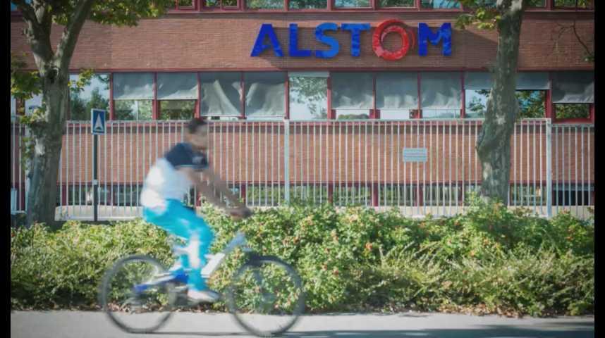 Illustration pour la vidéo Alstom : Hollande veut le maintien des activités ferroviaires à Belfort