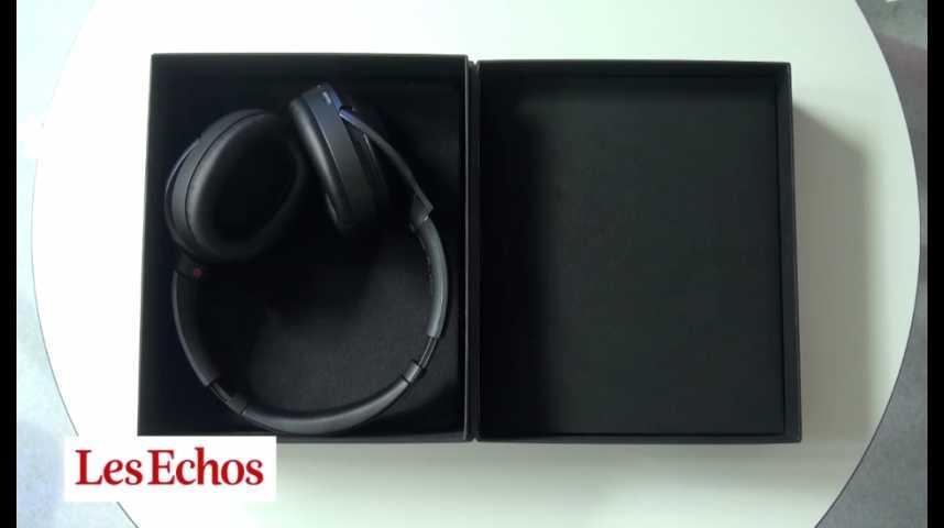 Illustration pour la vidéo Le MDR-1000x, un casque bluetooth pour oreilles dorées
