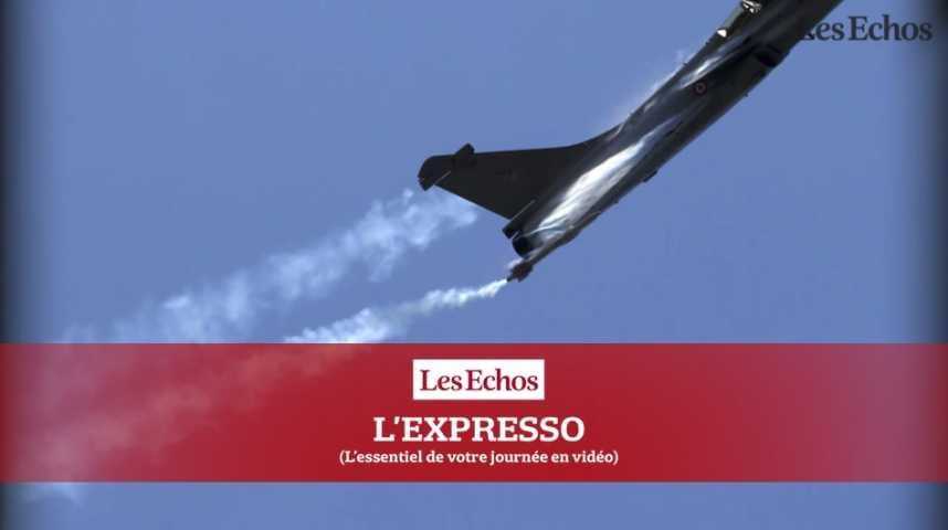 Illustration pour la vidéo L'Expresso du 23 septembre 2016 : Rafale, Le Drian en Inde pour signer un contrat historique...