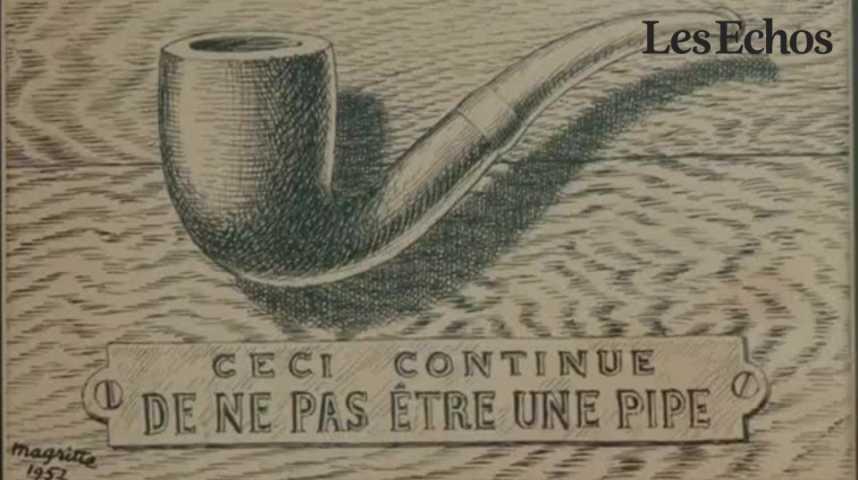 Illustration pour la vidéo Magritte le philosophe au Centre Pompidou
