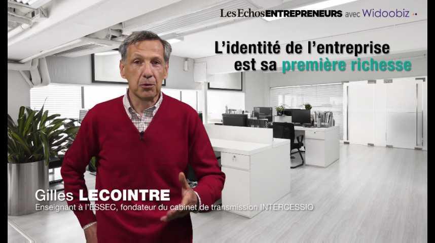 Illustration pour la vidéo L'identité de l'entreprise est sa première richesse, par Gilles Lecointre, enseignant à l'ESSEC