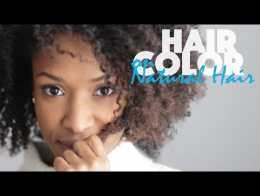 Coloration olia cheveux crepus