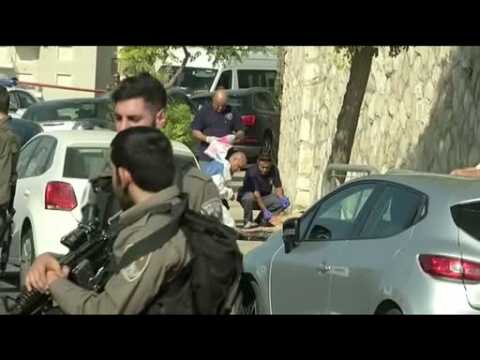 Palestinian man with knife shot by Israeli border police