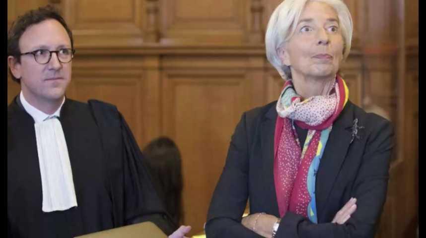 """Illustration pour la vidéo Arbitrage Tapie : Lagarde coupable de """"négligence"""" mais dispensée de peine"""