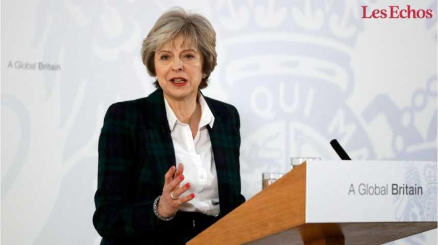 """Illustration pour la vidéo """"Hard Brexit"""" : la stratégie de Theresa May"""