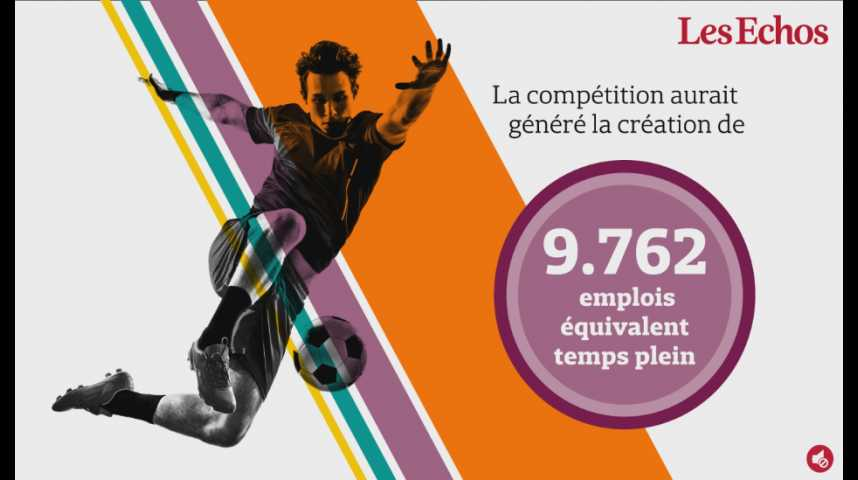 Illustration pour la vidéo L'Euro de foot 2016 a rapporté 1,2 milliard d'euros