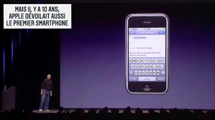Illustration pour la vidéo Les Echos Week-End : iPhone, 10 ans de bonheur