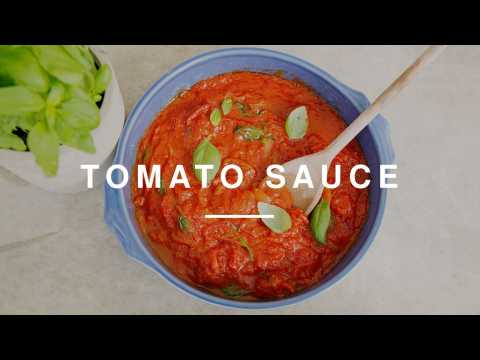 Kitchen Essentials - How To Make A Tomato Sauce | Wild Dish