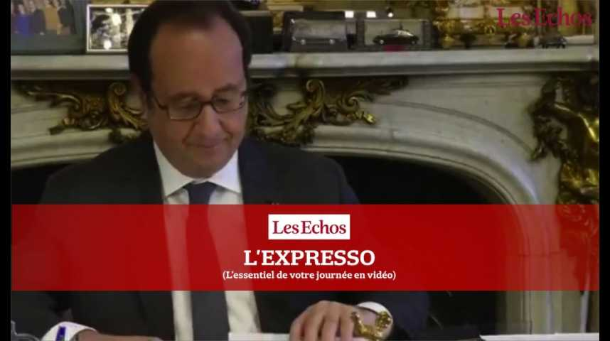 Illustration pour la vidéo French Tech Ticket : François Hollande en « mode start-up »