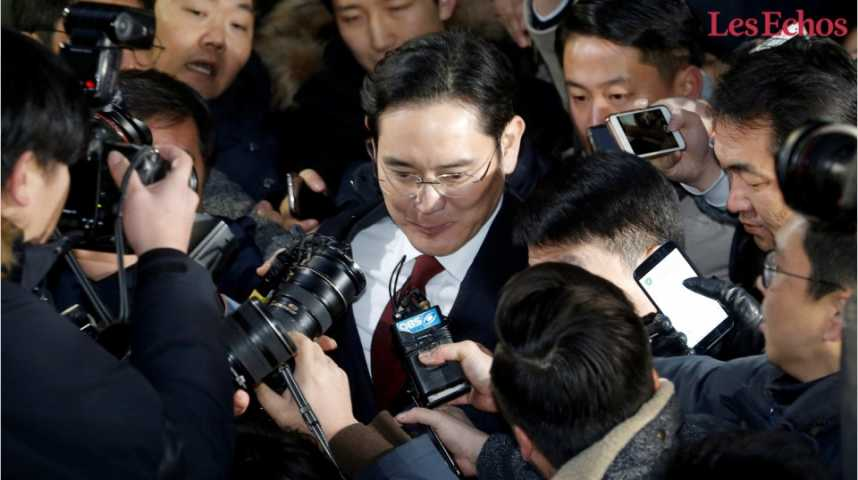 Illustration pour la vidéo L'arrestation du patron de Samsung requise en Corée du Sud