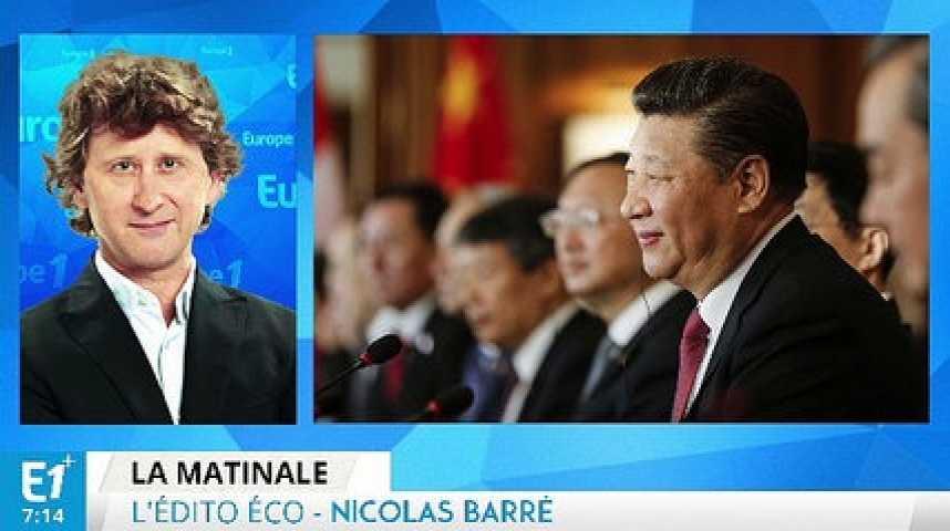 Illustration pour la vidéo La Chine présente à Davos