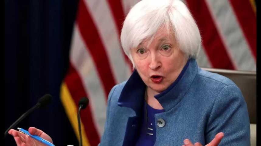 Illustration pour la vidéo La Fed remonte ses taux et prévoit de poursuivre en 2017