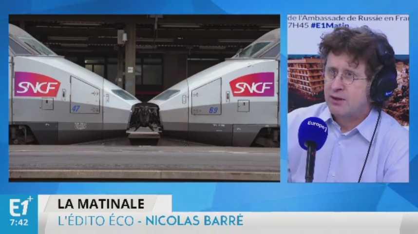 Illustration pour la vidéo La SNCF au régime sec en 2017