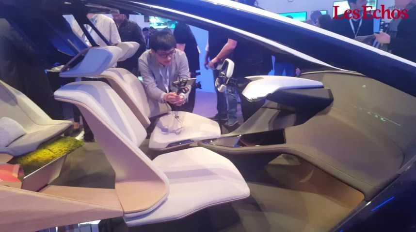Illustration pour la vidéo CES : découvrez la voiture du futur selon BMW