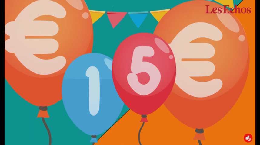 Illustration pour la vidéo Happy birthday, l'euro !