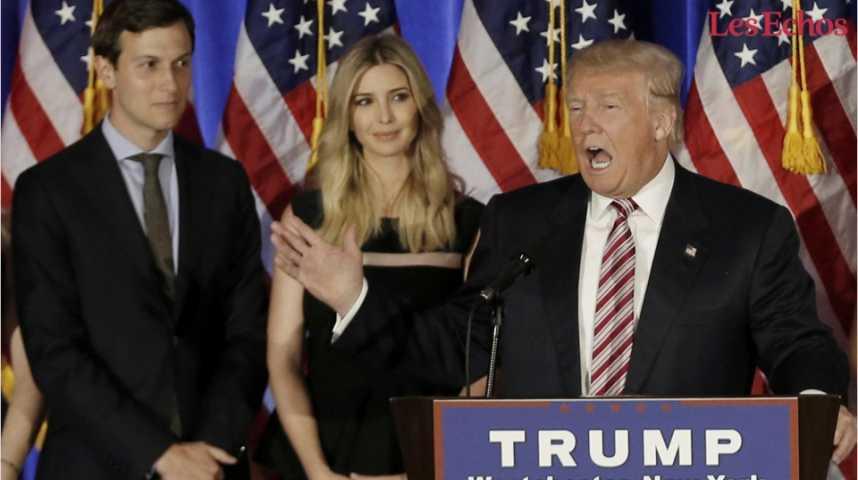 Illustration pour la vidéo Jared Kushner : de gendre de Trump à conseiller spécial de la Maison Blanche