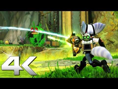 RATCHET & CLANK RIFT APART 16 Minutes Gameplay Trailer 4K (2021) PS5