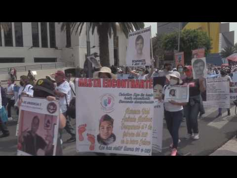 Hundreds of mothers of the disappeared in Mexico demand urgent solutions
