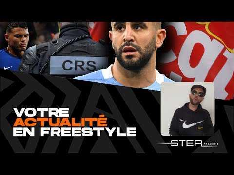 "Ryad Mahrez, Vaccin contre le Covid-19, Manifestations - ""VAEF"" avec STER Semaine du 03/05/21"