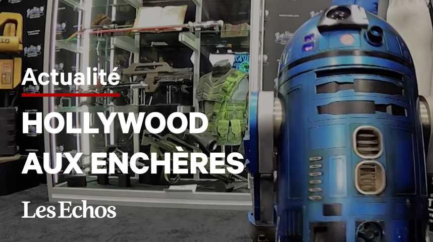 Illustration pour la vidéo Star Wars, Indiana Jones... Des milliers d'objets cultes d'Hollywood aux enchères